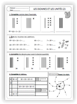 Numération CE1   Trousse de billes